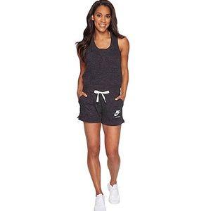 Nike Sportswear Gym Vintage Romper XL Charcoal